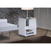 Mesa Decorativa Kenzo P - Branco Fosco- KNR Móveis